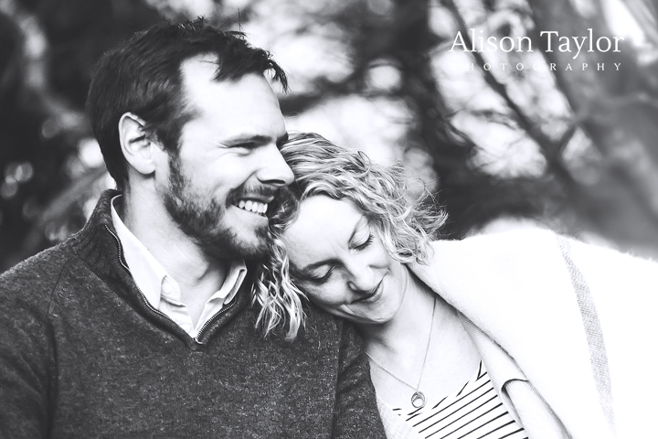 Photo of a couple during a photo shoot in bristol