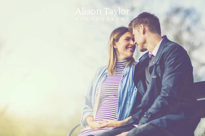 Photo of a couple expecting