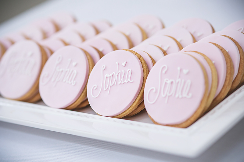 Photo of biscuits for guests at a party