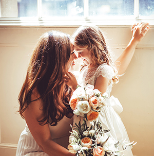 event and wedding photography - bride and bridesmaid