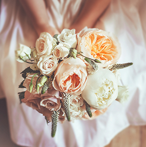 event and wedding photography - bouquet of flowers