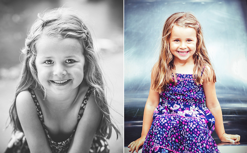 Portrait of a girl - family photographer cheltenham