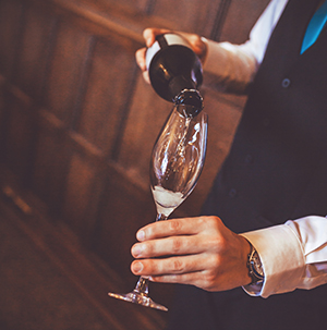 event and party photography - champagne