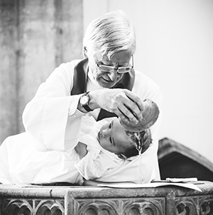 christening baptism photography - font